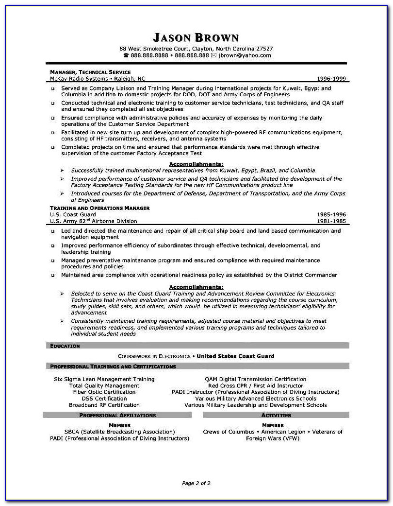 Professional And Affordable Resume Services