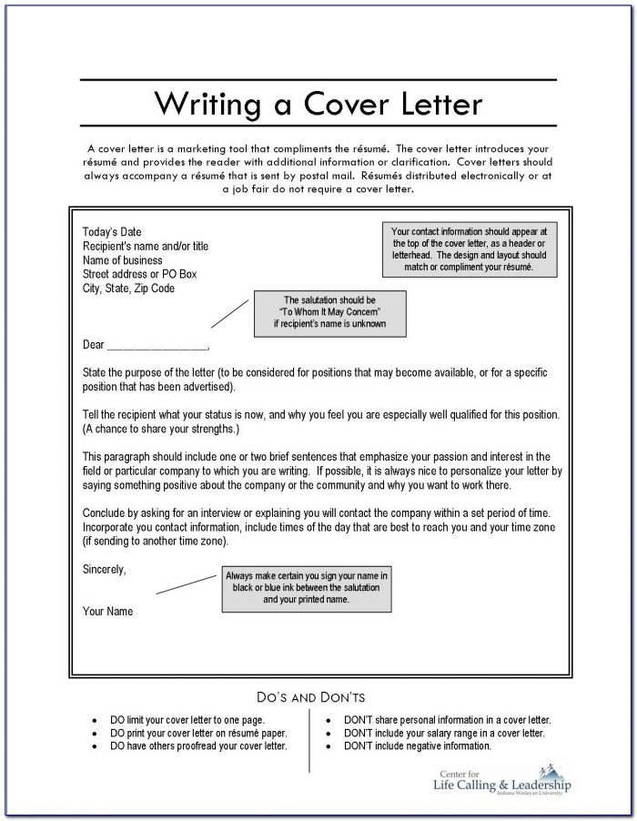 Professional Resume And Cover Letter Writers