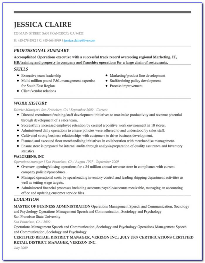 Professional Resume Builder Near Me