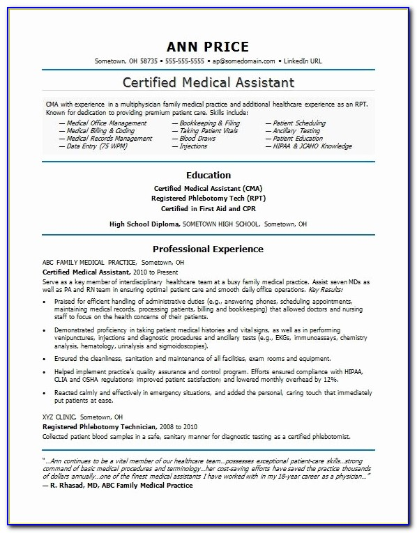 Health Care Resume Lovely Medical Assistant Resume Sample