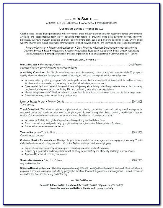Professional Resume Service Cincinnati