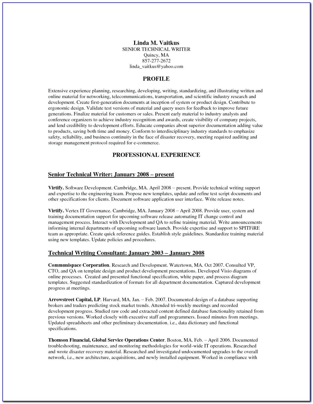 Professional Resume Services Austin Tx