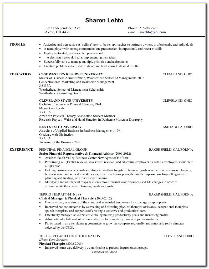 Professional Resume Writing Service Cleveland Ohio