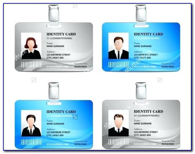 Pvc Id Card Template Canon