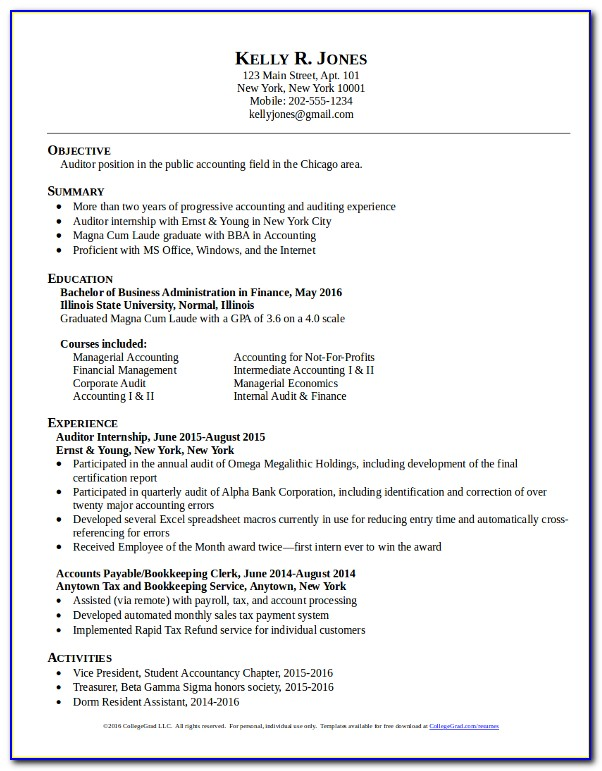 Quickstart Resume Templates