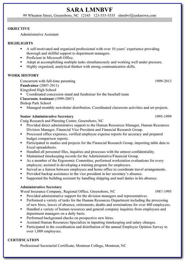 Ready Made Resume Templates