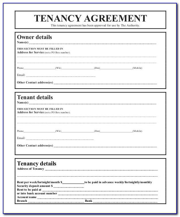 Rental Agreement Format Pdf