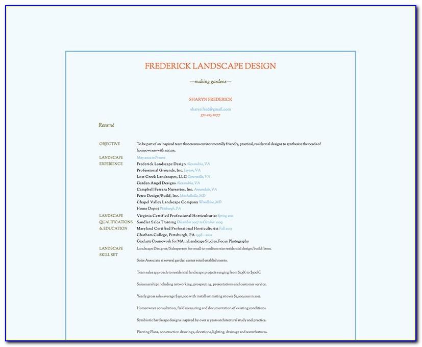 Resume And Portfolio Website Elegant Brad Walker S F Business Card And Resume Site