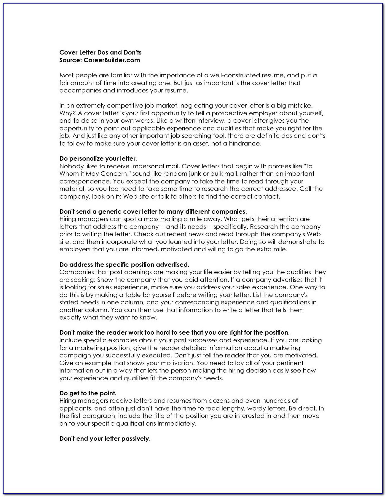 Resume Builder Career Change