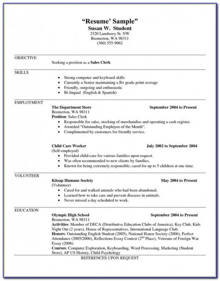 Download Free Printable Resume Builder Templates Resume Resume