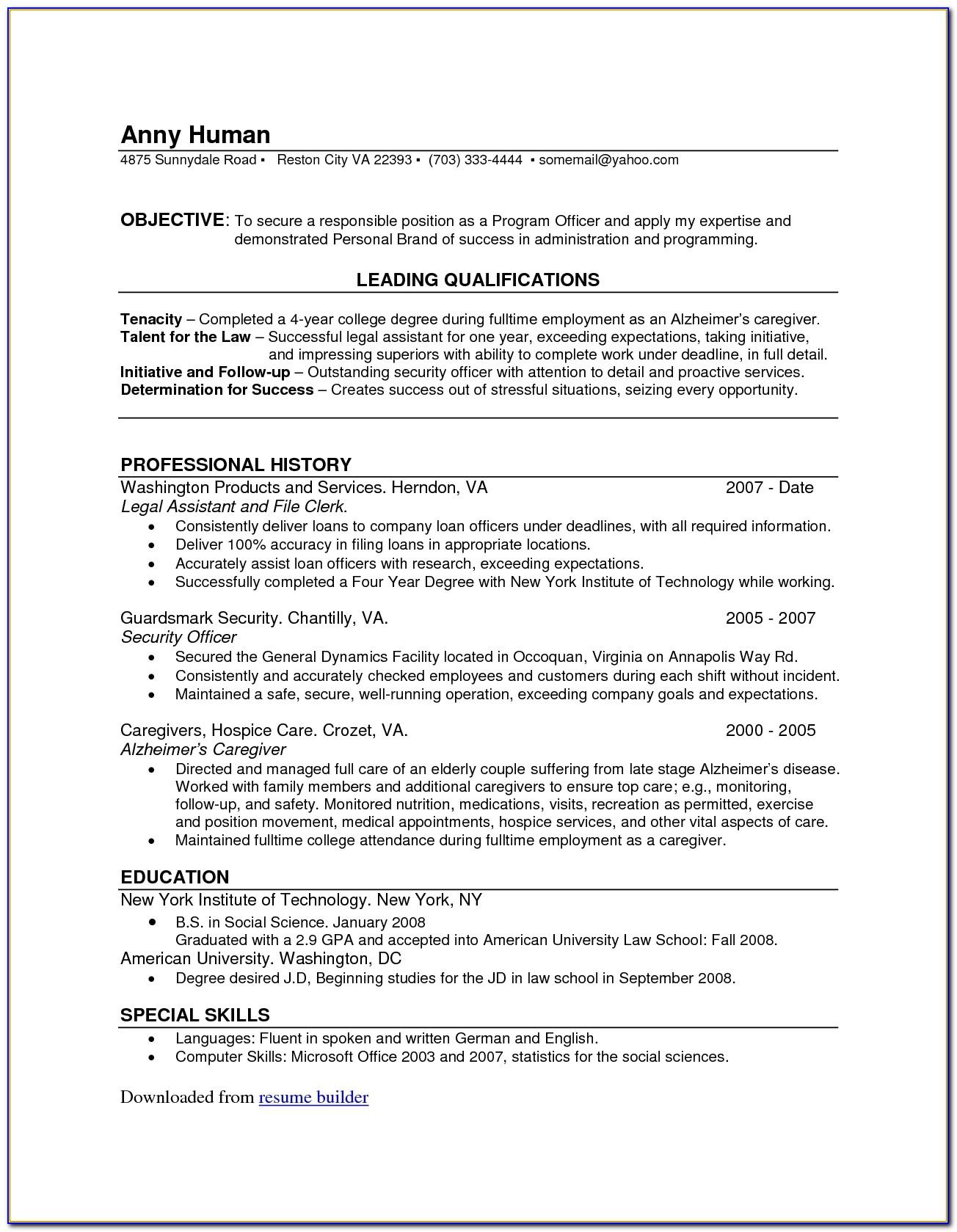 Resume Editor Online Free