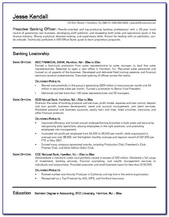 Sample Entry Level Investment Banking Resume Within Investment Banking Resume Sample