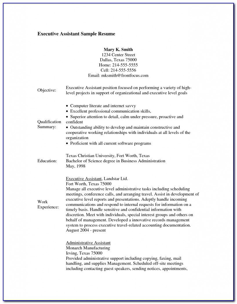 Resume Examples For Medical Assistant With No Experience