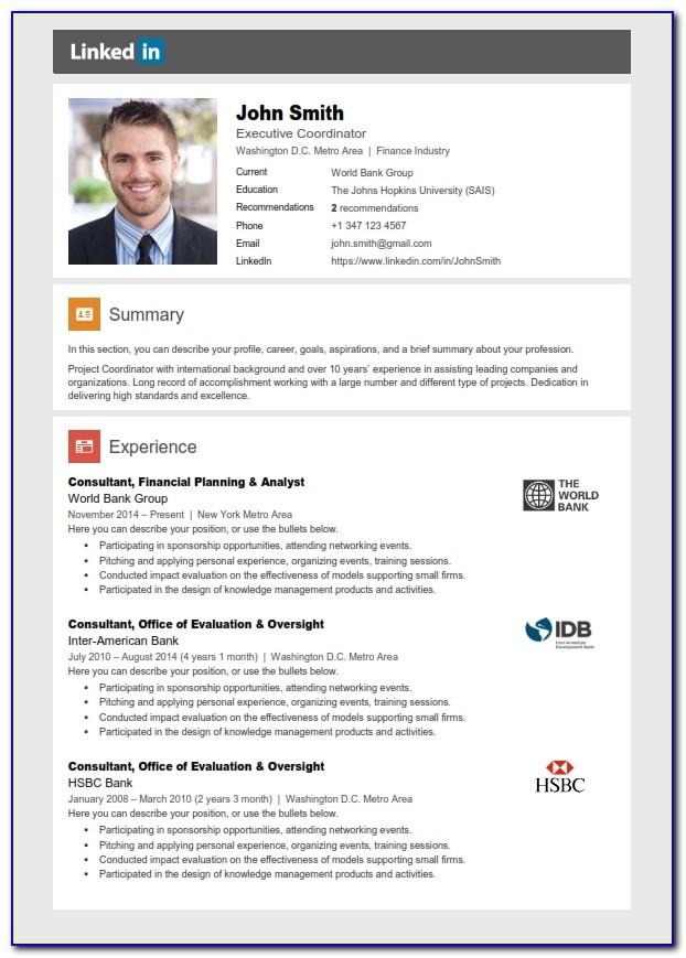 Resume Linkedin Writing Service