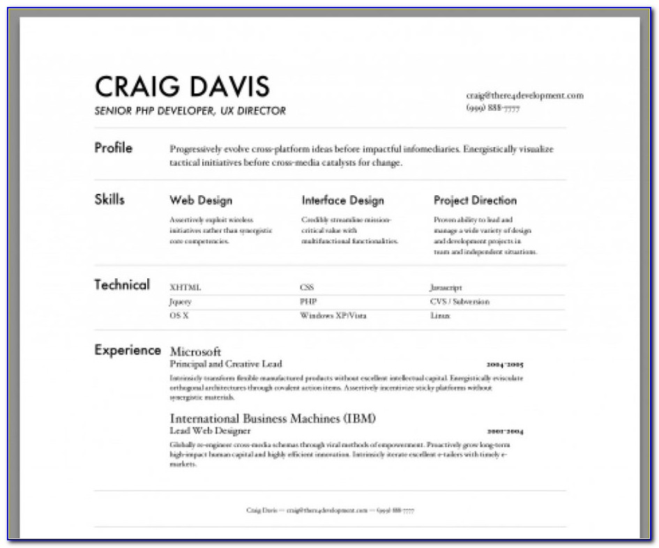 Resume Maker For Free Download