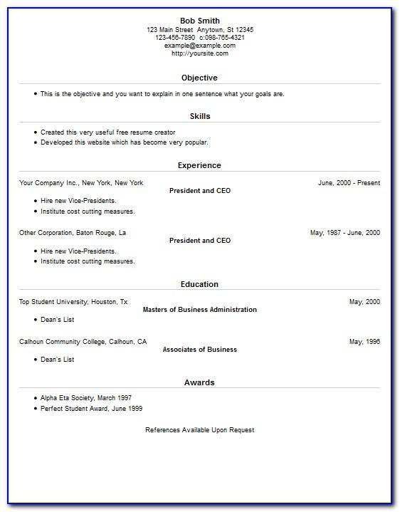 Resume Maker Free App