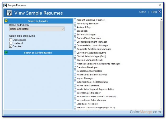 Resume Maker Professional Deluxe 18 Download
