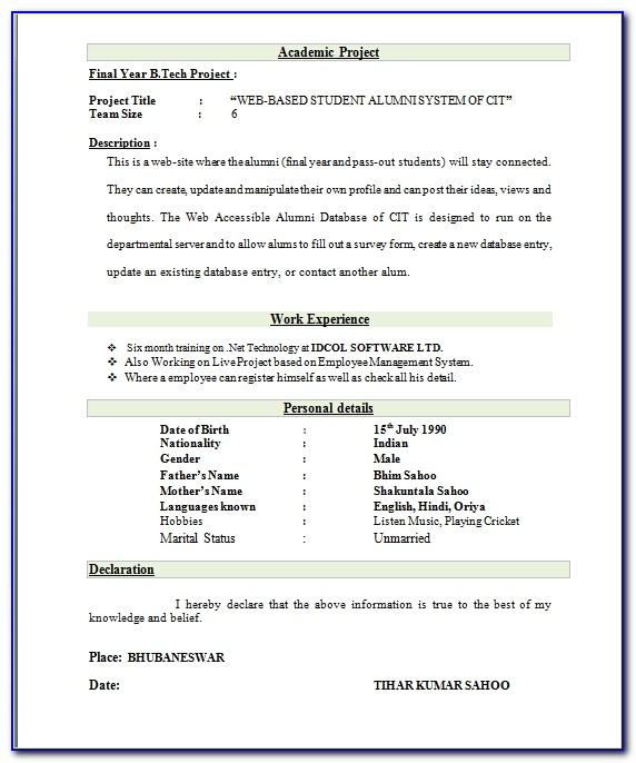 Electrical Engineer Resume Format Resume Format And Resume Maker Best Resume Format For Freshers Mechanical Engineers Best Resume Format For Freshers Mechanical Engineers