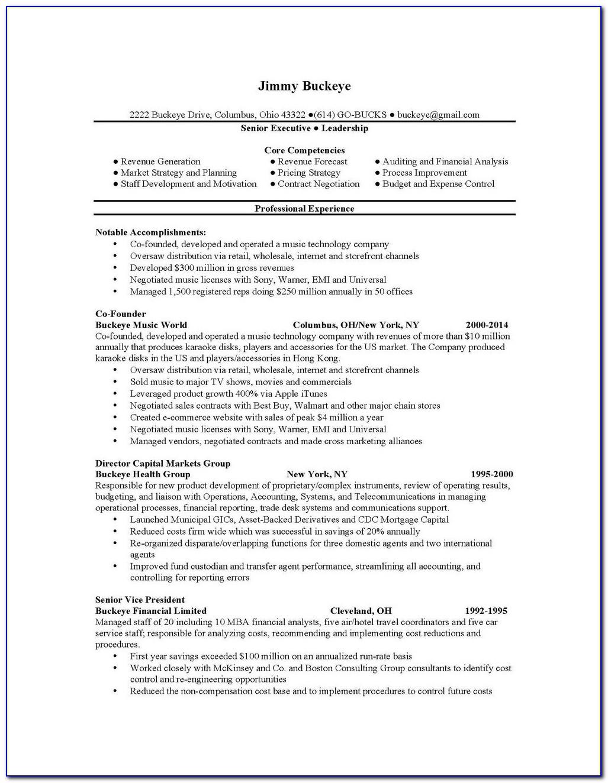 Resume Services Columbus Ohio