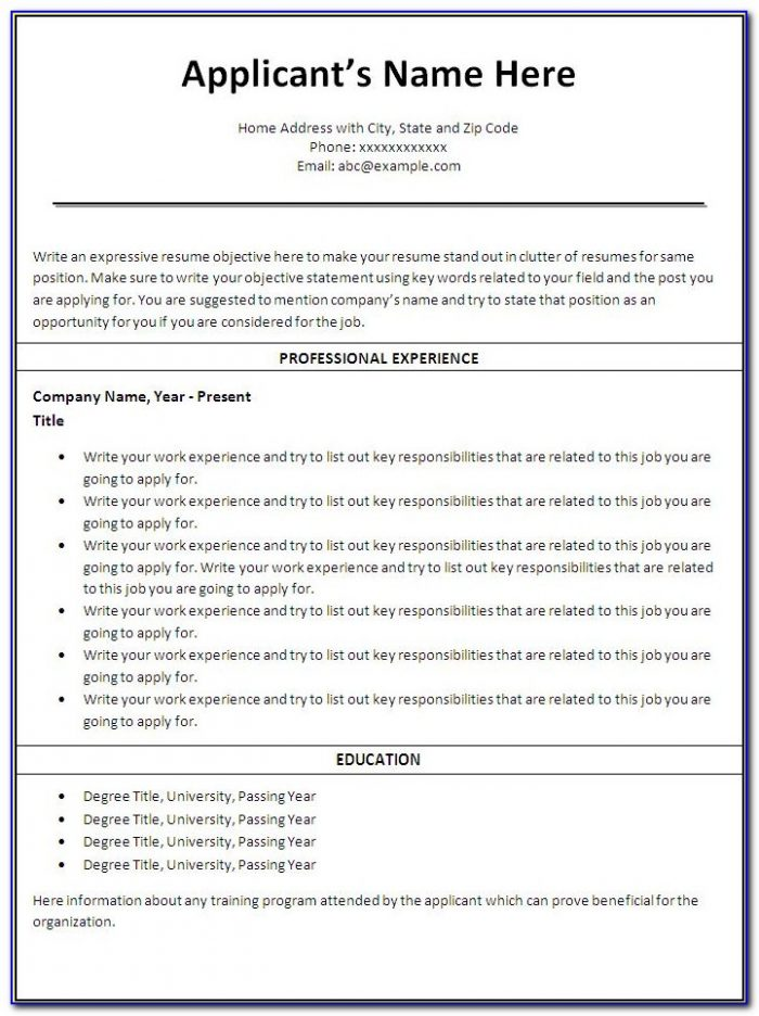 Resume Templates For Nurses Australia