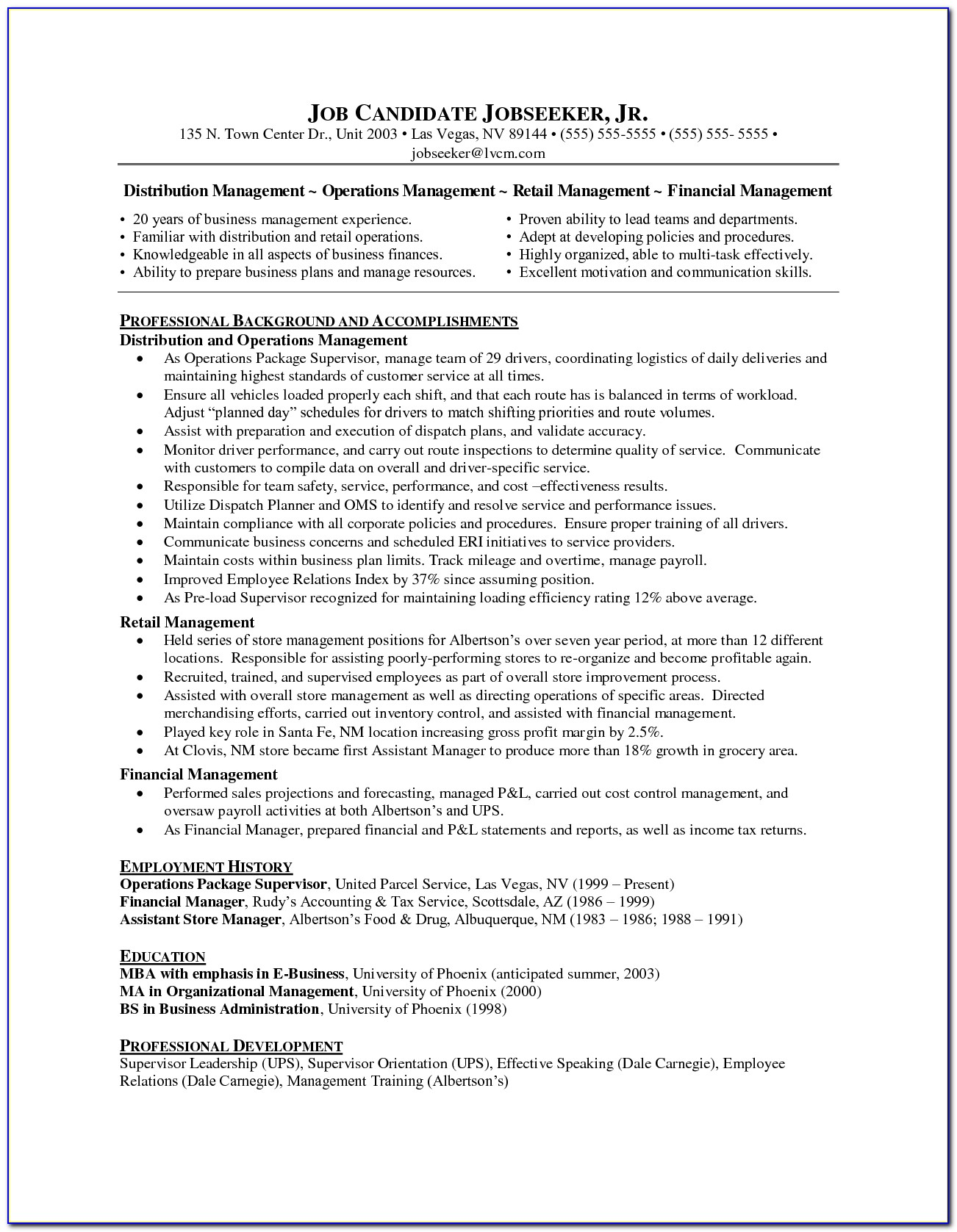 Resume Writer Phoenix Az