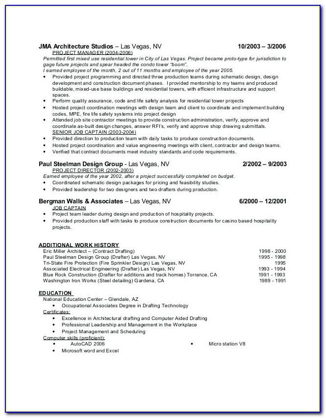 Resume Writers Las Vegas Nv