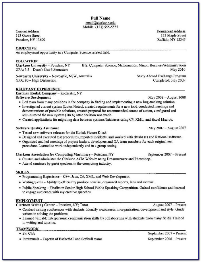 Resume Writing Executive