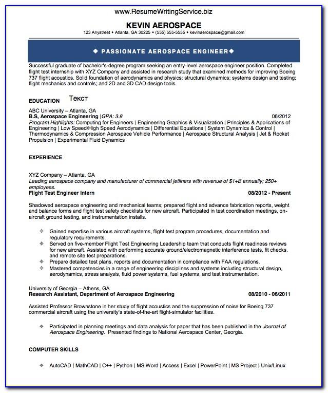 Resume Writing For Freshers Mechanical Engineers
