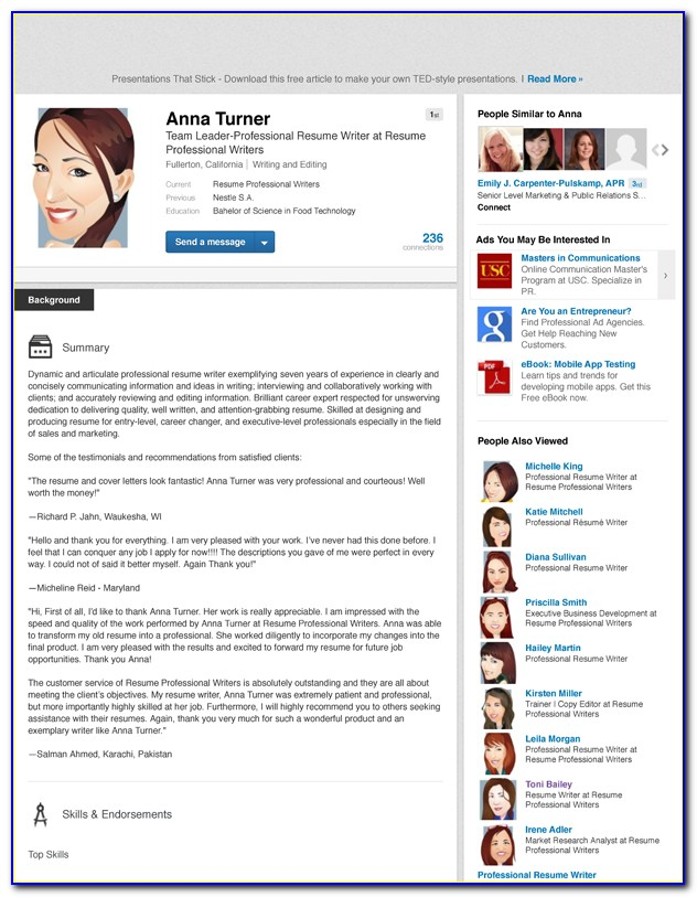 Resume Writing & Linkedin Seo Get Recruiters To Pursue You