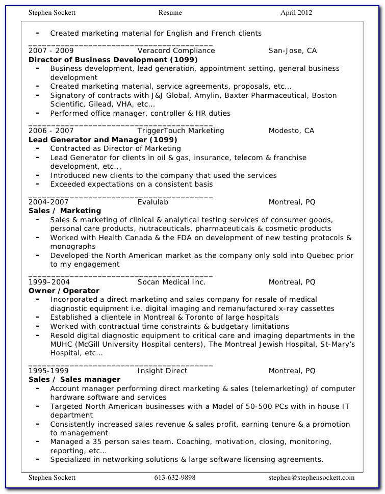 Resume Writing Service San Jose