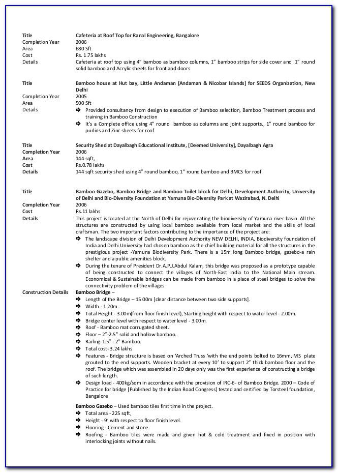 Resume Writing Services Bangalore