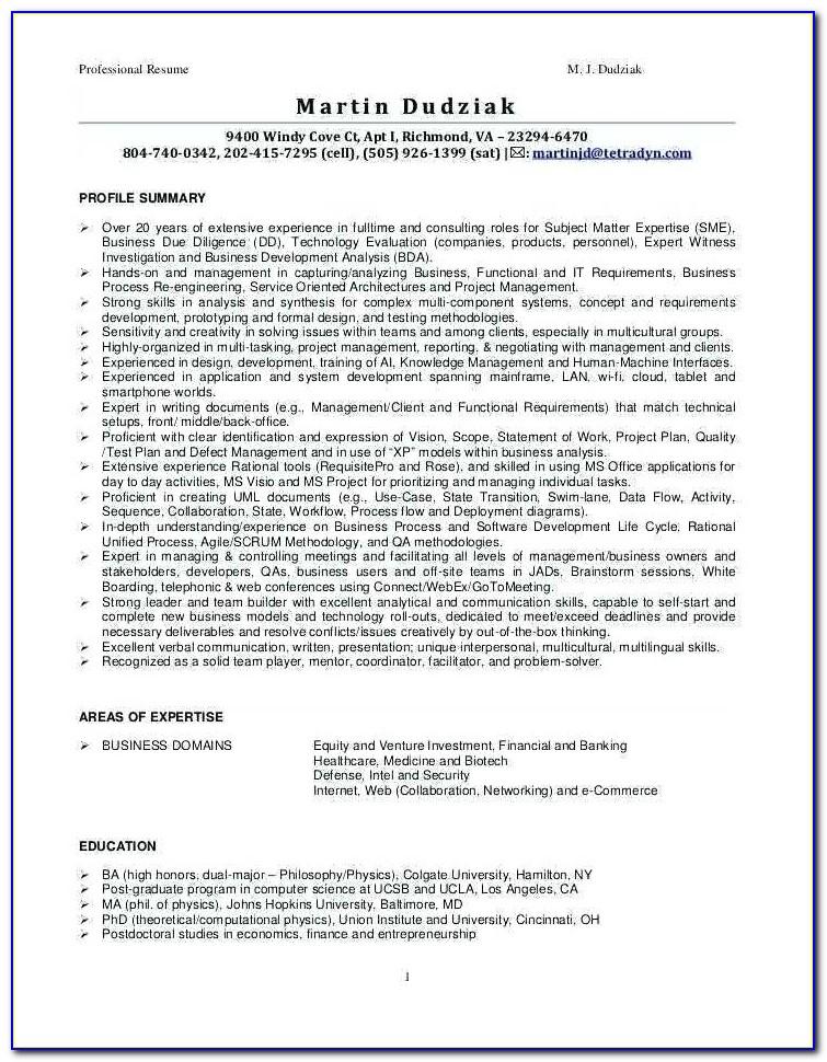 Resume Writing Services Cincinnati