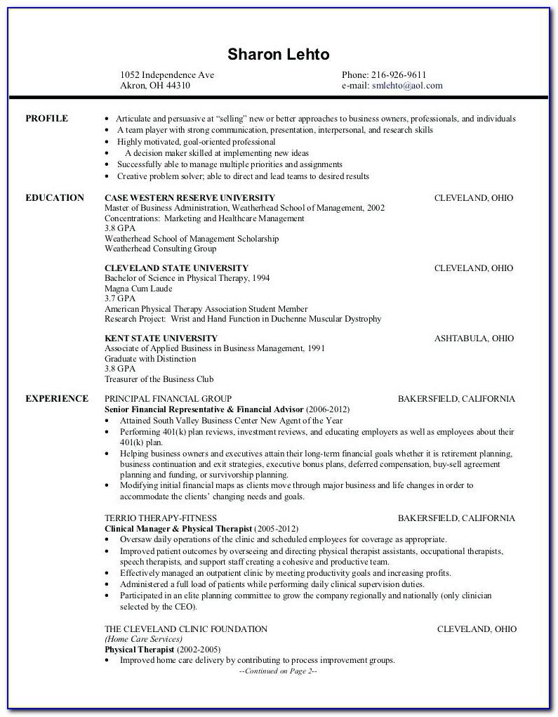 Resume Writing Services Cleveland Ohio
