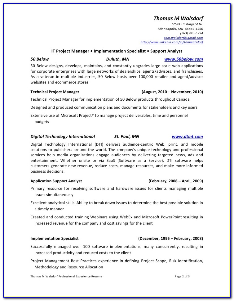 Resume Writing Services Rochester Mn