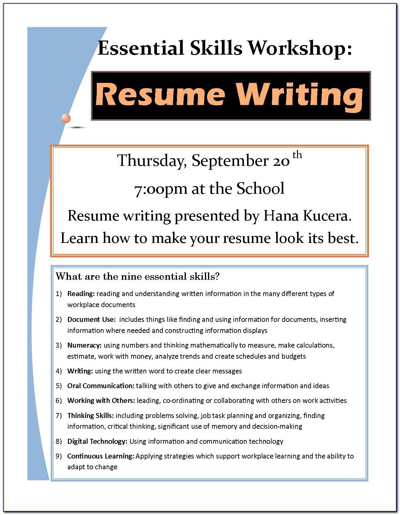 Resume Writing Training Free