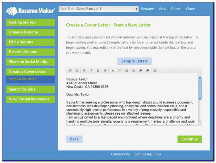 Resumemaker Professional Deluxe 18 Key