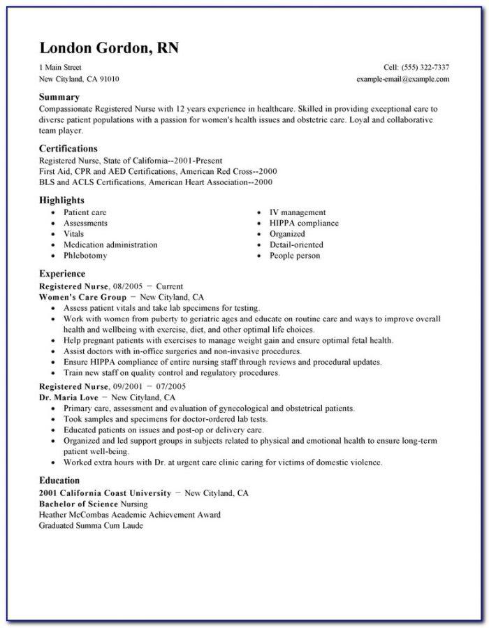 Rn Resume Samples | Resume Template 2017 In Nursing Resume Template 2017