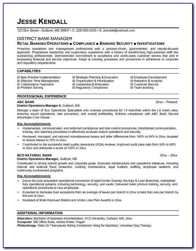 Self Storage Manager Resume New Resume In English Bank