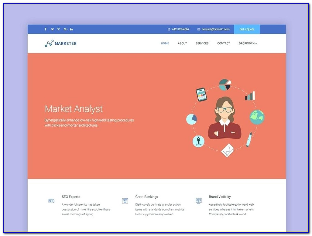 Social Networking Site Templates Download