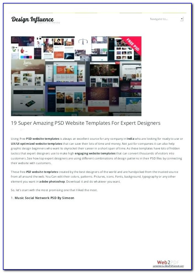 Social Networking Site Templates Open Source