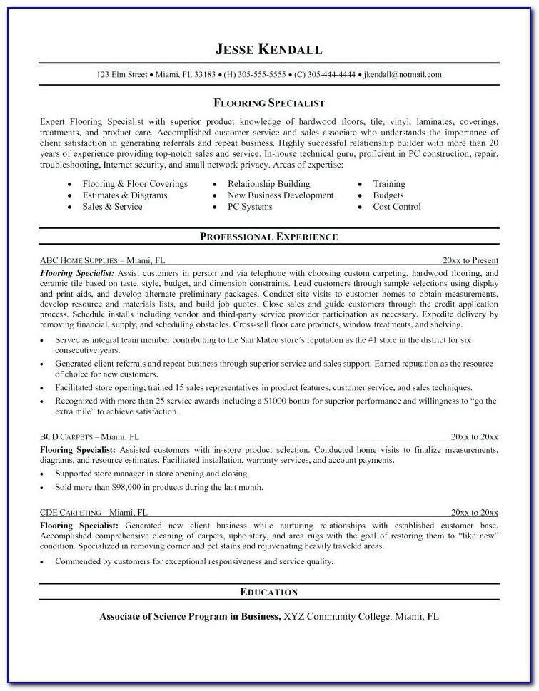 Solar Technician Resume Sample