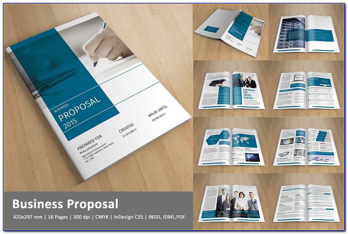 Sponsorship Proposal Template Indesign