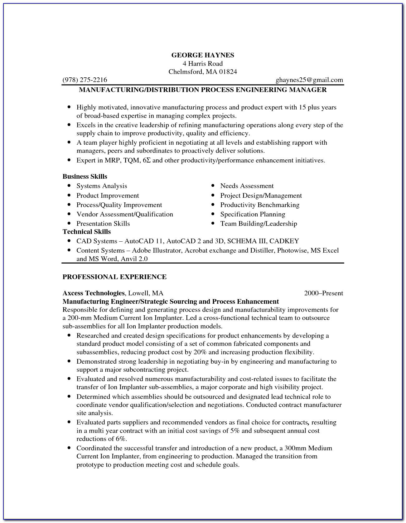 Teacher Job Resume Format Pdf