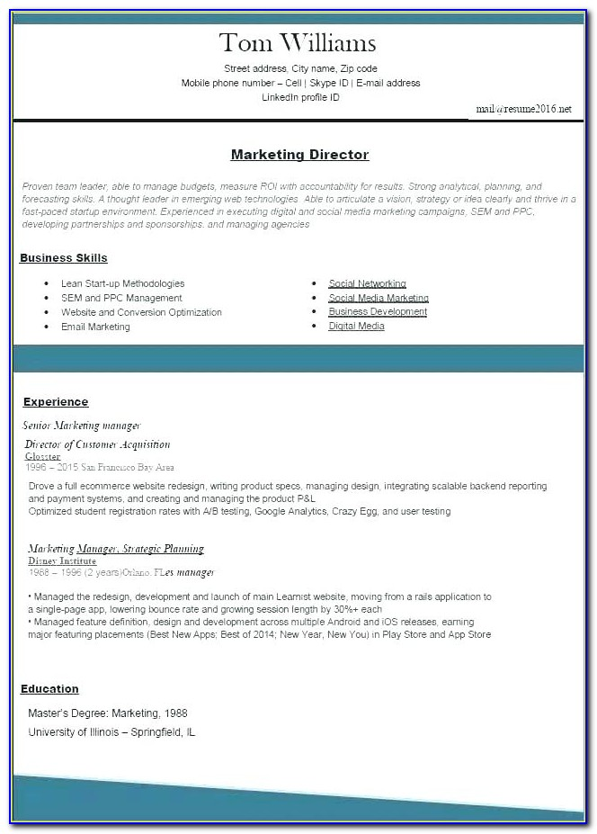 Top Rated Resume Builder Software