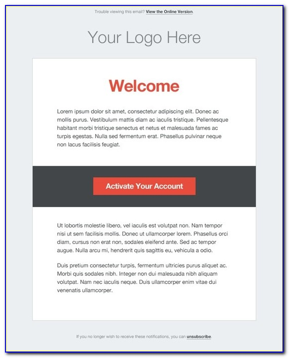 Transactional Email Template In Magento