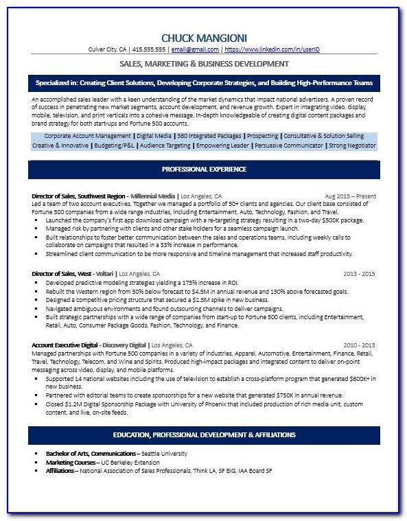 What Is An Ats Compatible Resume
