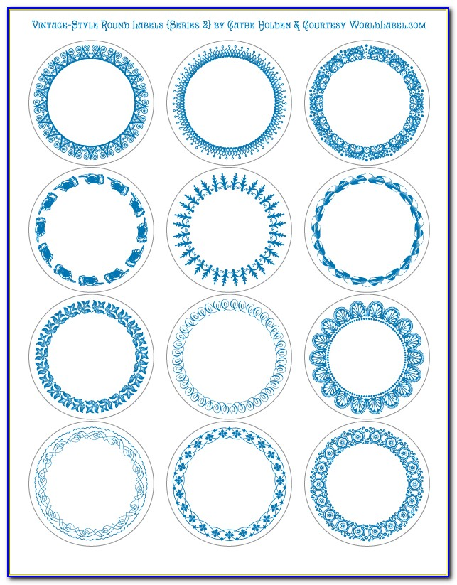 2.5 Inch Circle Template