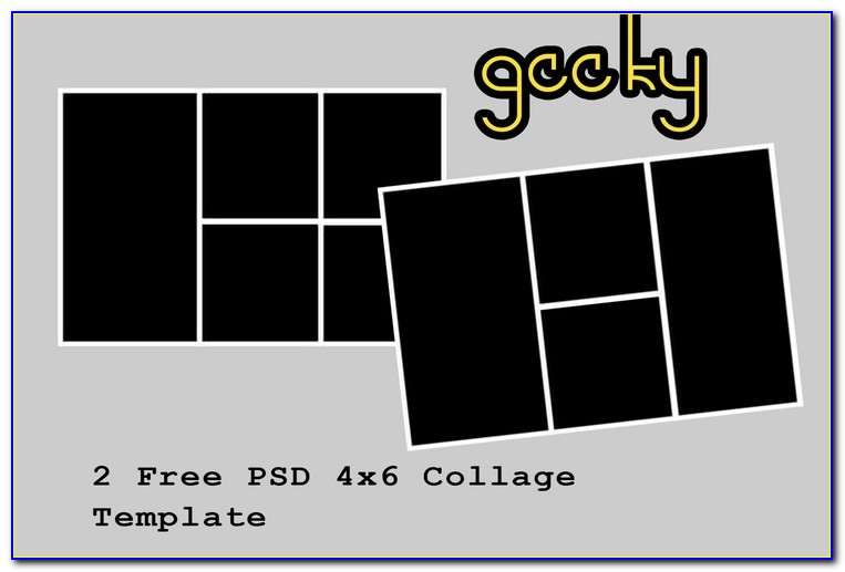 4x6 Collage Template Free