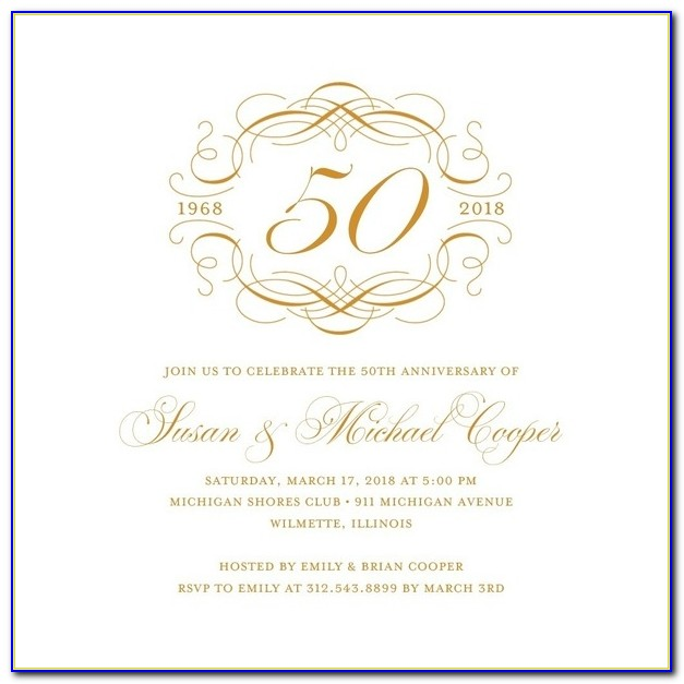 50th Anniversary Program Templates