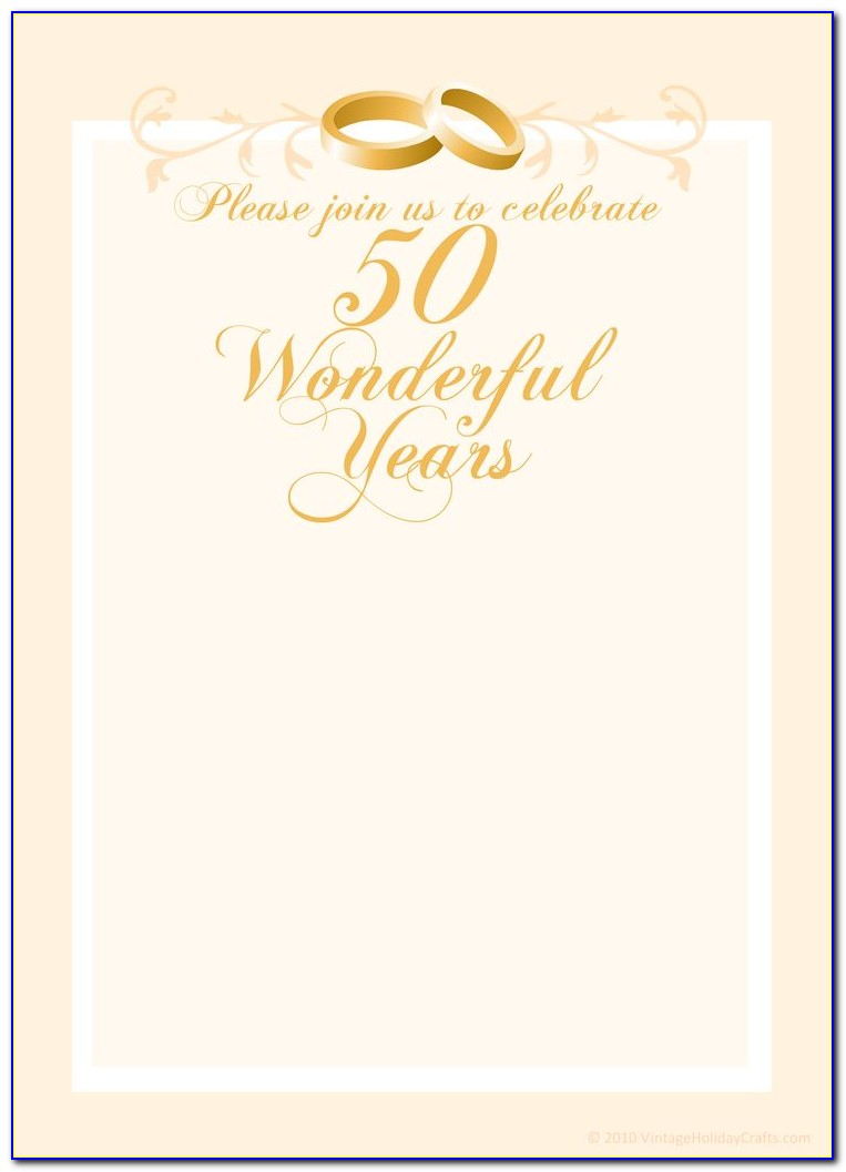 50th Anniversary Template Photoshop
